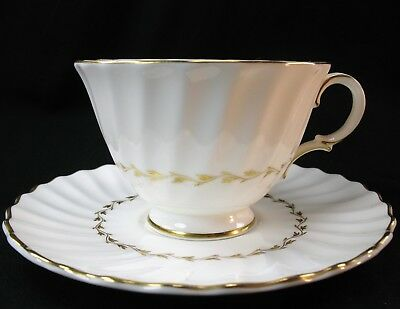 Royal Doulton English Fine Bone China ADRIAN H4816 Footed Cup & Saucer 8 Avail
