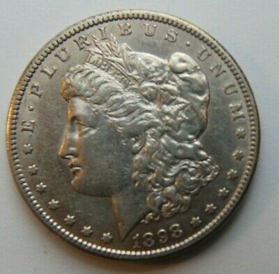 1898 S UNCirculated Morgan Silver Dollar #101202 Brilliant Mint State TOP Seller
