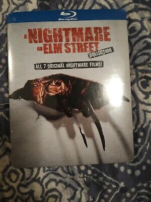 A Nightmare on Elm Street Collection (Blu-ray,All 7 Movies) Slipcover Brand New