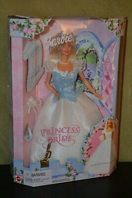 Barbie Doll 2000 Princess Bride Barbie Doll Never Opened