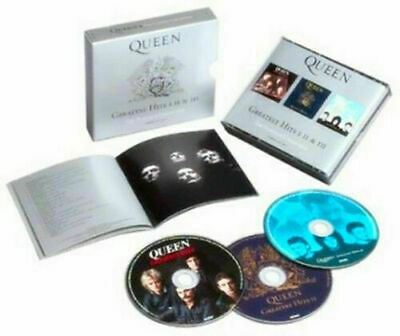 "The Queen ""Greatest Hits I II & III 1-3 (The Platinum Collection)"" 3 CD Box Set"