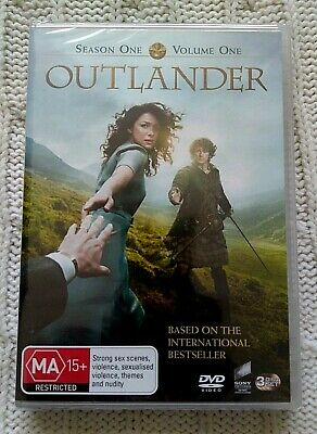 Outlander - Season 1- Volume 1– Dvd, 3-Disc Set- R-4- New-Free Post In Australia