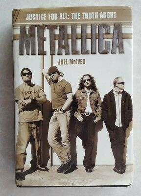 Metallica Book Justice for All:The Truth about Metallica 2004 RARE PHOTOS INSIDE
