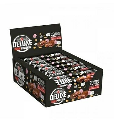 Musashi Deluxe Protein Rocky Road 60g x 12