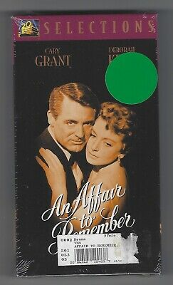 New AN AFFAIR TO REMEMBER (1957) Factory-Sealed VHS Grant, Kerr - FREE Shipping