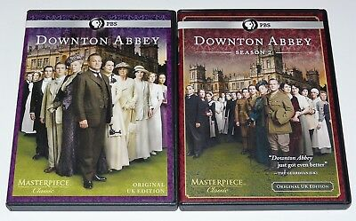 Masterpiece Classic: Downton Abbey - Season One & Two 1 & 2 DVD