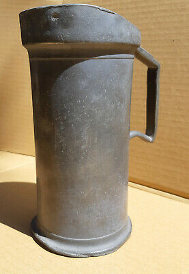 french pewter measure late1800's