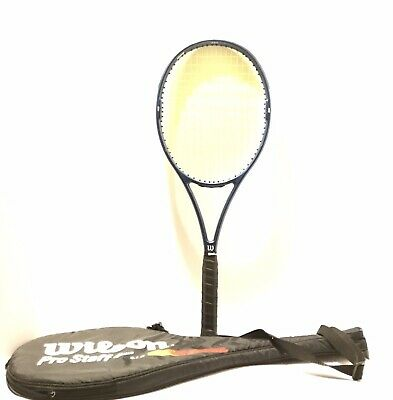 Wilson 95 Staff 6.5 Si High Beam Series Tennis Racquet 4 1/2 With Carrying Case