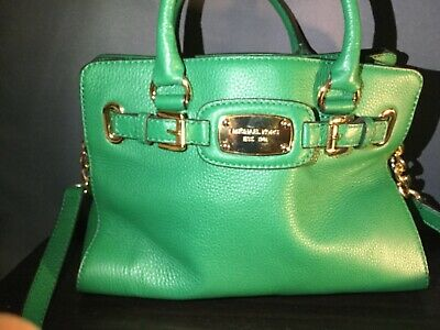 0d048c536cbc Michael Kors Hamilton Medium East West Leather Tote With Matching Wallet