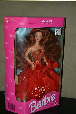 Barbie Doll 1992 Radiant In Red Barbie Doll With Long Red Hair