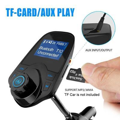 Bluetooth Kit MP3 Player Handsfree Wireless FM Transmitter USB LCD Modulator JЧ