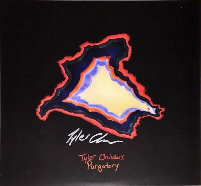 TYLER CHILDERS Auto Signed PURGATORY Vinyl LP Album w/COA *RARE* Country Folk