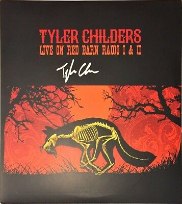 TYLER CHILDERS Auto Signed LIVE ON RED BARN RADIO 1 & 2 Vinyl LP Album w/COA