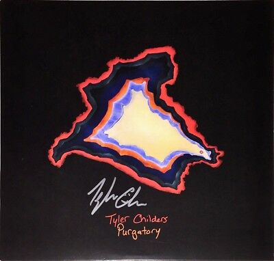 TYLER CHILDERS Auto Signed PURGATORY Vinyl LP Album w/COA **RARE** Country Folk