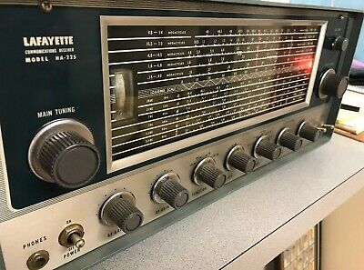 Vintage Lafayette Communications Receiver Model HA-225