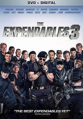 The Expendables 3 [New SEALED DVD]