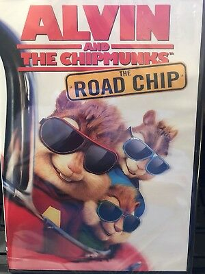 Alvin and the Chipmunks The Road Chip (DVD, 2015) - NEW Sealed
