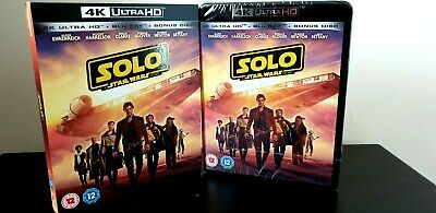 Solo: A Star Wars Story [4K UHD + Blu-ray, 2018] NEW + SLEEVE! SEALED! .