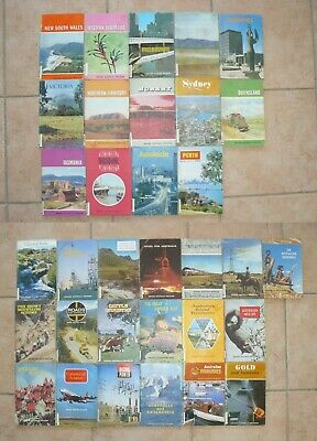 Bulk lot of 33 books. Around Australia program