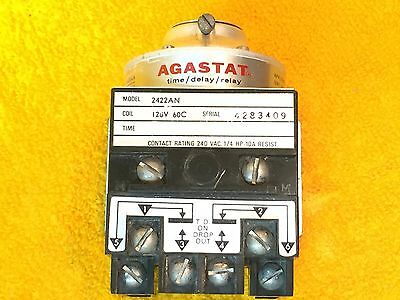 Perfect Agastat 2422An Time Delay Relay 120 Volt Coil