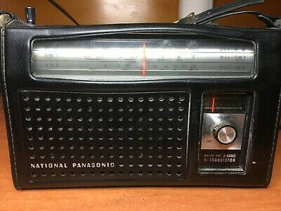 Classic National Panasonic 530Khz - 22Mhz Portable SW Receiver