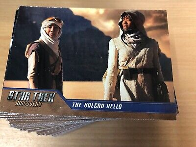 Star Trek Discovery Season 1 Trading Cards Base Set 90 Cards