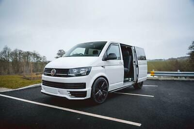 NEW WIND DEFLECTORS 2 Pieces to fit VW-T5 TRANSPORTER CARAVELLE 2003 to CURRENT