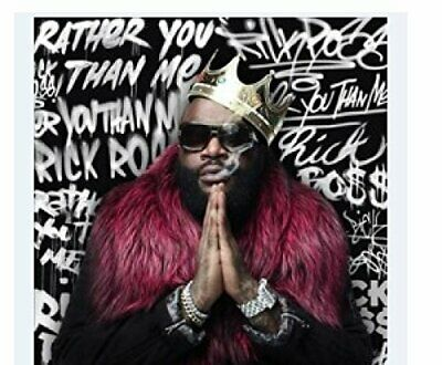 |091801| Rick Ross - Rather You Than Me (Clean) [CD] Neuf