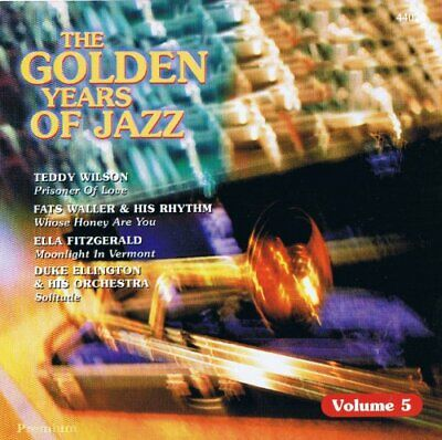 |963631| Various Artists - The Golden Years of Jazz - Vol. 5 [CD x 1] New