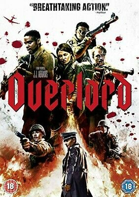 Overlord [DVD] 2018 Region 2 Brand New Sealed Free P&P