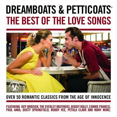 |1026727| Dreamboats & Petticoats - The Best Of The Love Songs (2 Cd) [CD] New