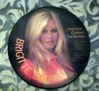 Brigitte Bardot ...And God Created The Woman picture disk LP ...IN FRENCH
