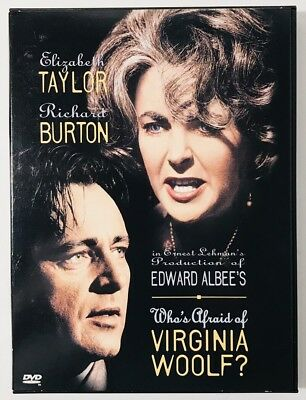 Whos Afraid of Virginia Woolf (DVD, 1997, Full Frame and Letterboxed Versions)