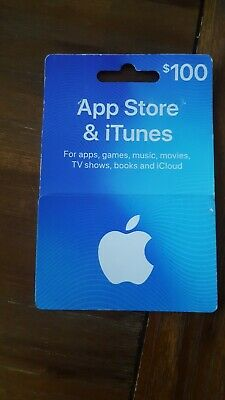 $100 Apple App Store/iTunes Gift Card (unwanted business prize)
