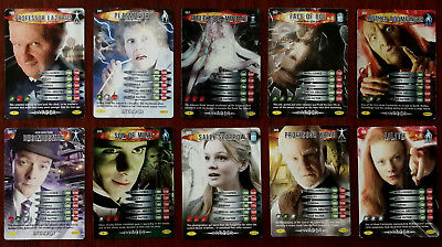 Doctor Who Battles In Time 10 x Trading Cards (380 - 389)