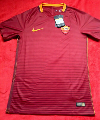 adce3b1ea30 Rare Bnwt Nike As Roma Home 16/17 Pro Stock Player Issue Match Authentic  Small