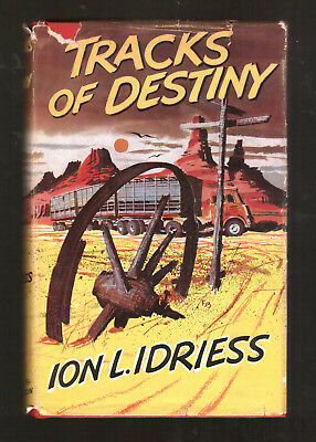 TRACKS OF DESTINY  Ion L Idriess  H/bk  D/w  1st ed