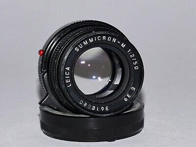 Leica v4 Summicron 50mm F2 M-mount Rangefinder Camera Lens