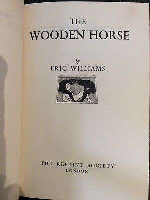 The Wooden Horse Eric Williams Ww2 Great Escape Book 1950 Hardcover Germany Uk