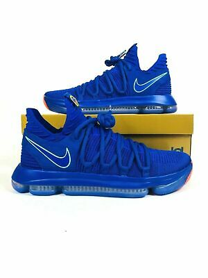 size 40 10d56 2b9c3 Nike Zoom KD 10 KDX Basketball Shoes Blue