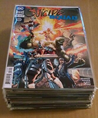 DC Suicide Squad Lot Rebirth 1-34 + #1 Shot Complete Run!! Harley Quinn Variants