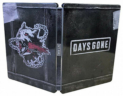 Days Gone Steel Book Only Geo Limited PrayStation 4 PS4 Sony Video Game