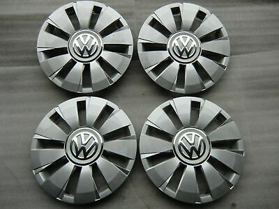 4 x Top Original VW UP Lupo Radkappen Radzierblenden 14 Zoll 1S0601147G
