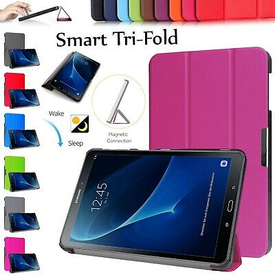 """Samsung Galaxy Tab A6 10.1"""" Inch 2016 Magnetic Smart Slim Stand Pouch Cover Case"""