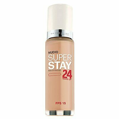 Maybelline New York Super Stay 24Hr Makeup, 1 Fluid Ounce