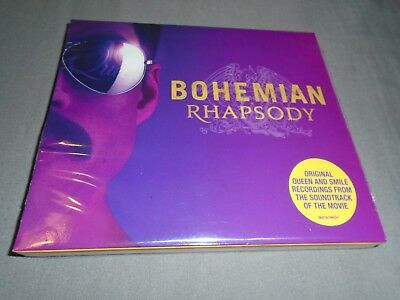 Bohemian Rhapsody Movie Soundtrack Exclusive CD + Poster - Queen Freddie Mercury