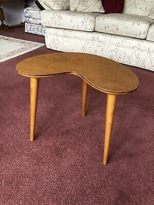 Vintage Stylish Retro Side Table With 3 Legs That Unscrew