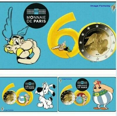 2 Euros Commémorative France 2019 ASTERIX 3 VERSIONS - PRÉ-VENTE - SORTIE 21 MAI
