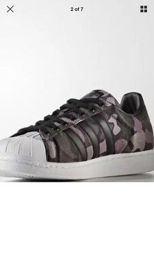 MEN'S SHOES * ADIDAS SUPERSTAR * CAMO * CM8070 * LIMITED