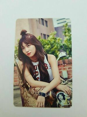 "K-POP TWICE Fan Meeting ""ONCE BEGINS"" Official MOMO RED Photocard"